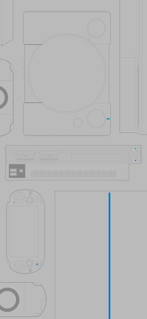PlayStation : Sony propose des fonds d'écran dédiés aux 25 ans de la marque