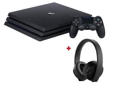 PS4 Pro + Casque PlayStation GOLD à 299€