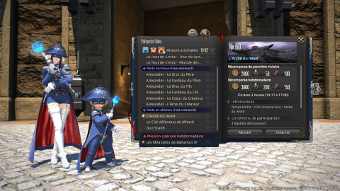Final Fantasy XIV : le patch 5.15 se penche sur le Mage Bleu et le Front