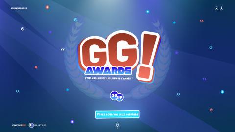 GG! Awards : votez pour les jeux de l'année 2019 dans des catégories décalées