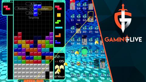 Tetris 99 : On vise le top 1 en équipe !