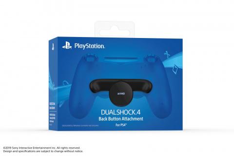 Sony dévoile la fixation dorsale de commandes, un accessoire pour la DualShock 4