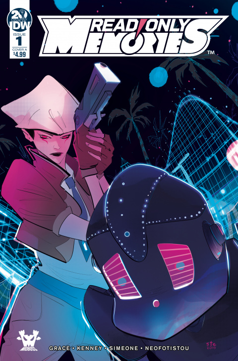 2064 : Read Only Memories - L'univers cyberpunk s'exporte en comics