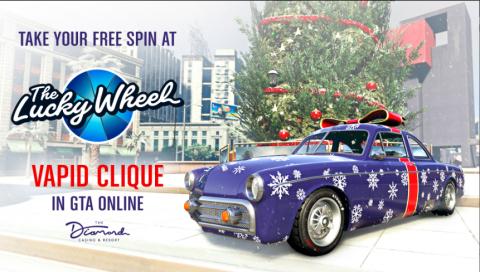 GTA Online célèbre les fêtes de fin d'année avec des cadeaux