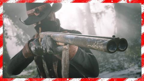 Red Dead Online fête Noël avec de la neige et des cadeaux