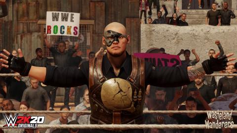 WWE 2K20 : Le DLC Originals Wastelands Wanderers est disponible