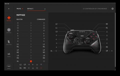 Astro Gaming C40 TR : La manette PS4 à 200€