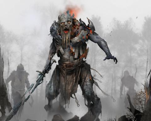 God of War : Des concept arts pour la série de Sony Santa Monica