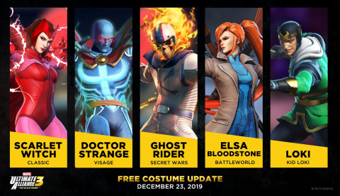 Marvel Ultimate Alliance 3 fait le plein de costumes pour la sortie du 2e DLC