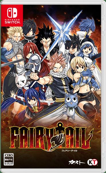 Fairy Tail : Koei Tecmo présente la jaquette japonaise