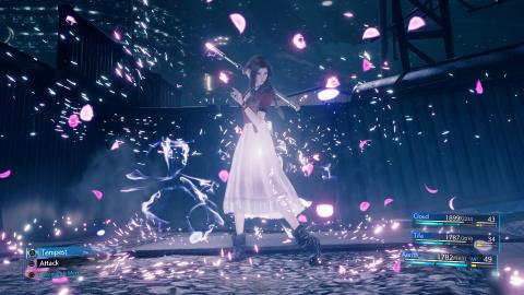 Final Fantasy VII Remake : Les derniers visuels d'Aerith au combat
