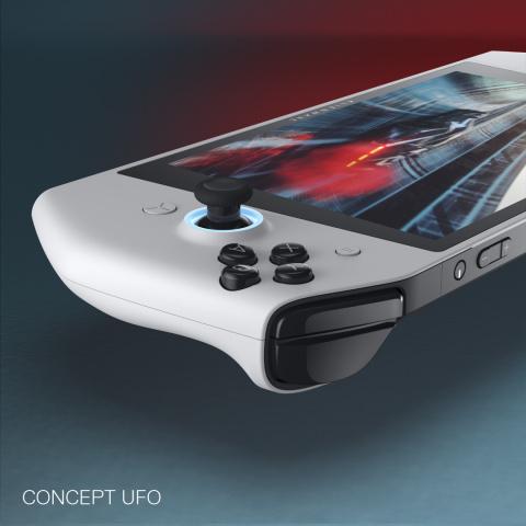 CES 2020 : Alienware dévoile l'UFO - Un prototype de PC très inspiré de la Switch