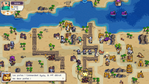 Wargroove : Double Trouble : Le DLC arrive sur PS4 avec le crossplay