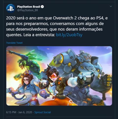 Overwatch 2, vers une sortie en 2020 ?