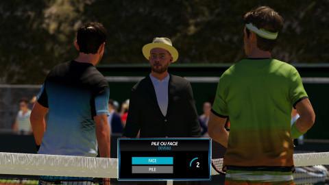 AO Tennis 2 : Un mode carrière réussi, une réalisation datée
