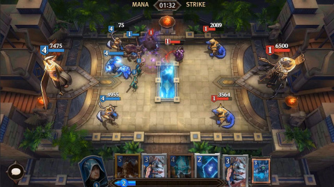 Magic Manastrike : Un concurrent à Clash Royale sur mobiles ?