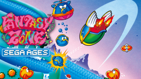 Sega Ages : Fantasy Zone sur Switch