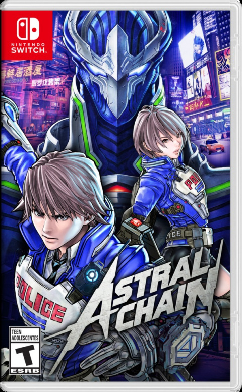Astral Chain Nintendo Switch en promotion de 40% !