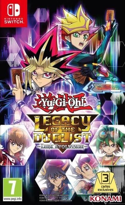 Soldes d'hiver 2020 : Yu-Gi-Oh! Legacy of the Duelist : Link Evolution à -41%