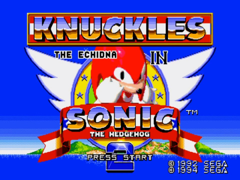 Sega Ages : Sonic the Hedgehog 2 proposera Knuckles the Echidna