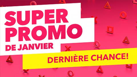 PS Store : dernière chance pour profiter de la Super Promo de janvier !