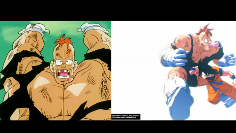 Dragon Ball Z Kakarot Vs la série animée : Comparatif de 4 séquences