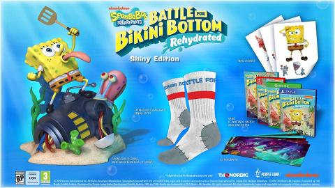 Bob l'Éponge : Bataille pour Bikini Bottom : Réhydraté date sa sortie sur PC et consoles