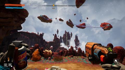 Journey To The Savage Planet : Un bon jeu d'exploration totalement déjanté