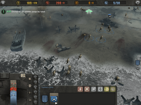 [MàJ]  Company of Heroes s'annonce sur iPhone et Android