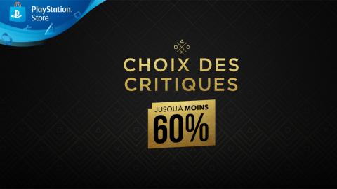 PS Store : le top des jeux choisi par les critiques sont en promo