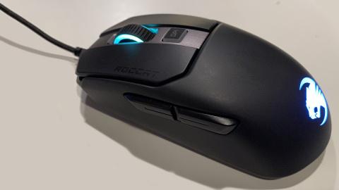 Test souris Roccat Kain 120 Aimo: Compacte, rapide et performante