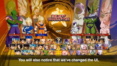 Dragon Ball FighterZ : la fonctionnalité Z Assist Select et d'autres nouveautés en approche