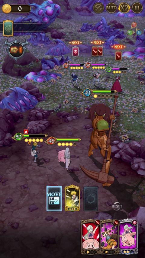 The Seven Deadly Sins : Grand Cross - le jeu mobile arrive en Occident