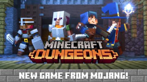 Minecraft Dungeons sur PS4