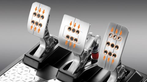 Un nouveau pédalier de simulation de course chez Thrustmaster