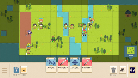 Floppy Knights, un jeu de cartes tactique prochainement sur PC