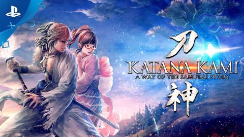 Katana Kami: A Way of the Samurai Story sur PS4