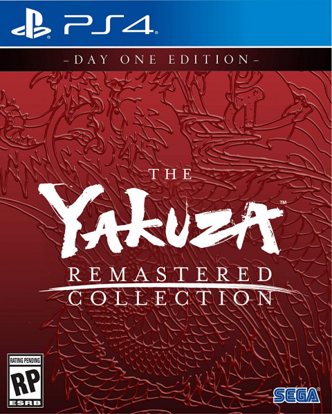 The Yakuza Remastered Collection sur PS4