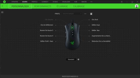 Test de la souris Razer Deathadder V2 : la même à l'extérieur, le plein de nouveautés à l'intérieur