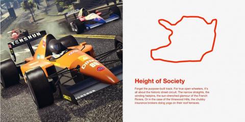 GTA Online - Open Wheels Race dévoile ses tracés F1