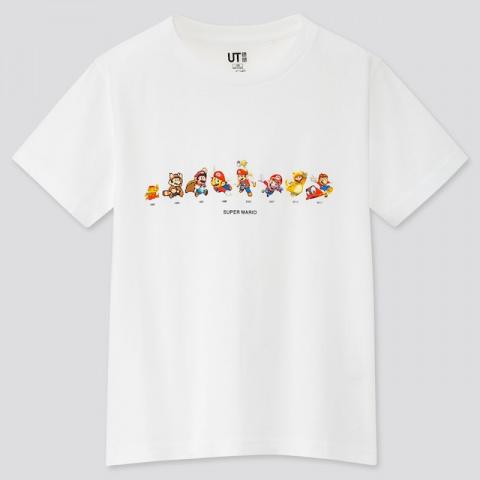 Uniqlo : une nouvelle gamme de vêtements Super Mario en approche