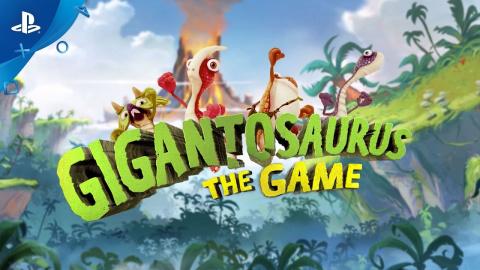 Gigantosaurus The Game sur PS4