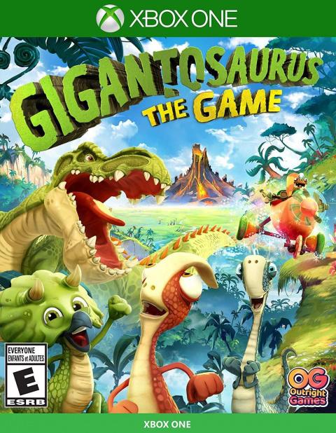 Gigantosorus The Game sur ONE