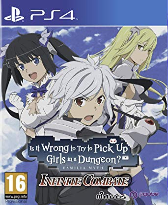 Is it Wrong To Try To Pick Up Girls In a Dungeon ? - Infinite Combate sur PS4