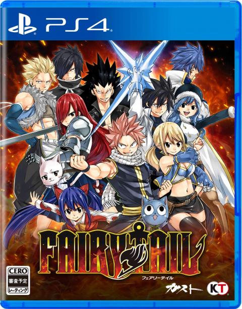 Fairy Tail sur PS4