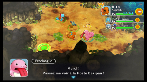 Pokémon Donjon Mystère Équipe de secours DX : Un joli remake au gameplay daté