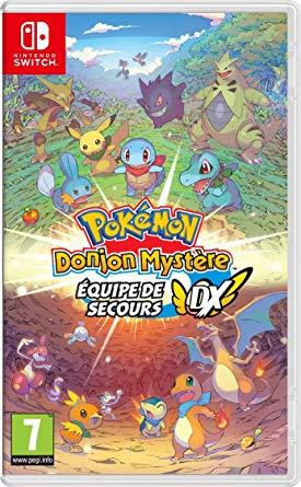 Pokémon Donjon Mystère : Équipe de Secours DX sur Switch