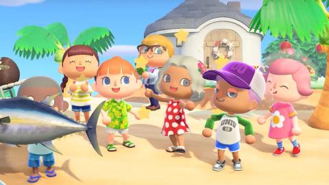 Animal Crossing New Horizons : les modes multi expliqués !