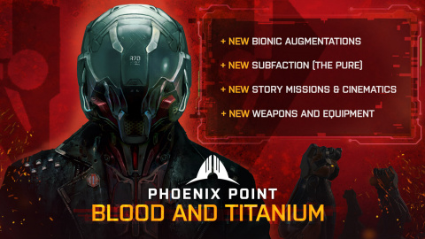 Phoenix Point : Blood and Titanium - un premier DLC cybernétique pour le XCOM-like
