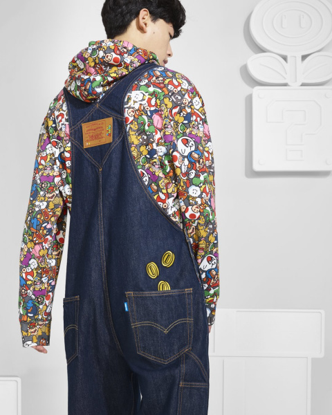 Super Mario Bros. - Une collection à l'effigie de Mario chez Levi's
